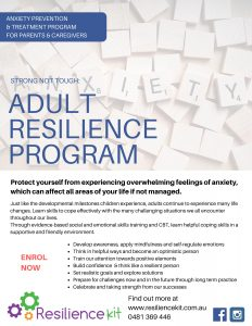 Image of Resilience Kit Adult Resilience Anxiety Program