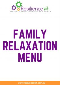 Resilience Kit Family Relaxation Menu Icon