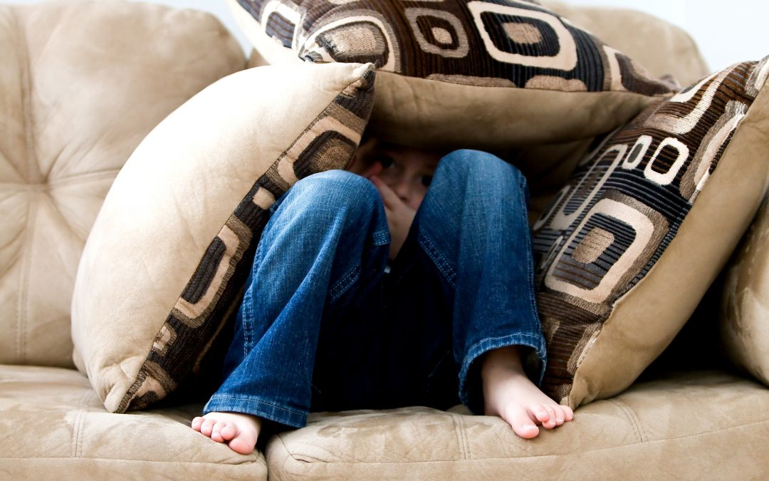 How stepping back can help a child learn from anxiety provoking situations