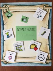 Resilience Kit Daily Routine Poster Choices