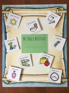 Resilience Kit Daily Routine Poster