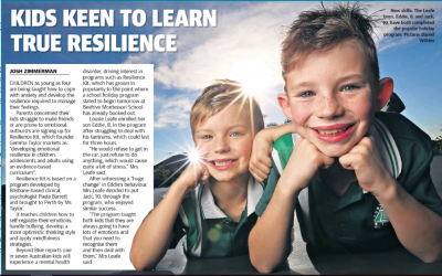 Kids keen to learn true resilience