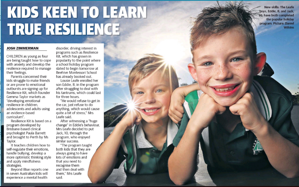 Developing Emotional Resilience in Children